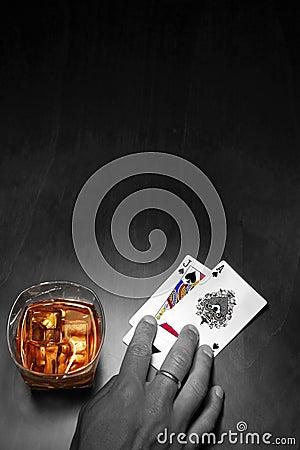 Free Poker Noir Royalty Free Stock Images - 2547899