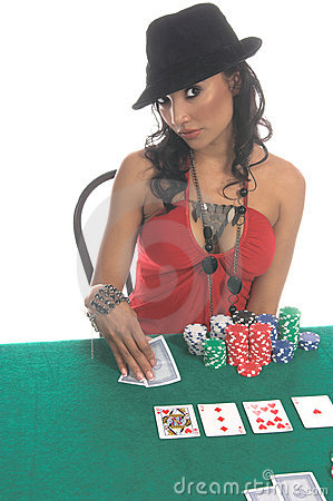 Free Poker Player Royalty Free Stock Images - 856569