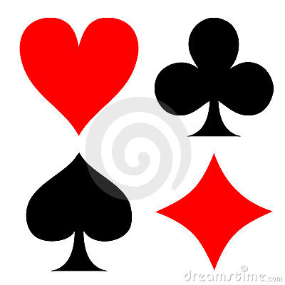Poker playing card