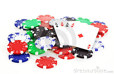 Poker scene