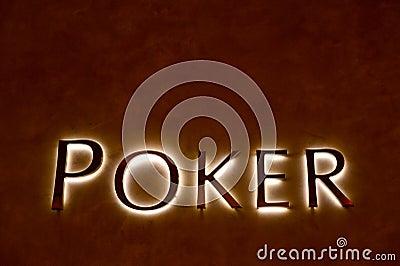 Poker sign