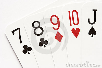 Poker - straight
