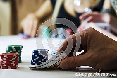 Poker tension