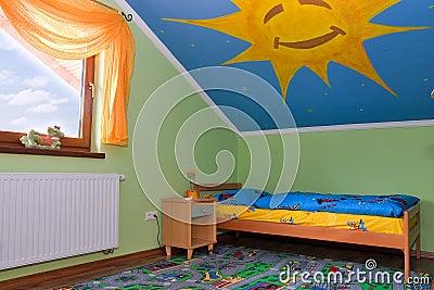 Pokój dziecinny jest