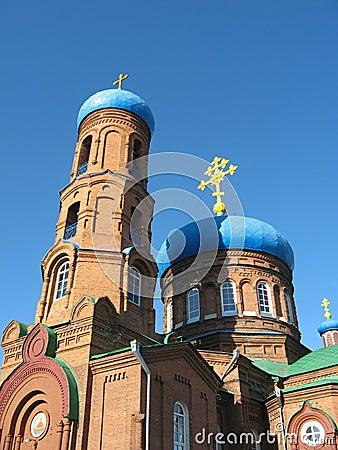 Pokrovsky Cathedral. Barnaul