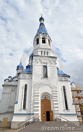 Free Pokrovsky Cathedral In Gatchina. Royalty Free Stock Photo - 76137035