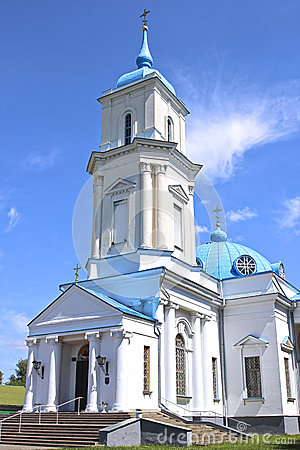 Free Pokrovsky Cathedral In The City Of Baranovichi In Belarus Royalty Free Stock Photo - 50299005