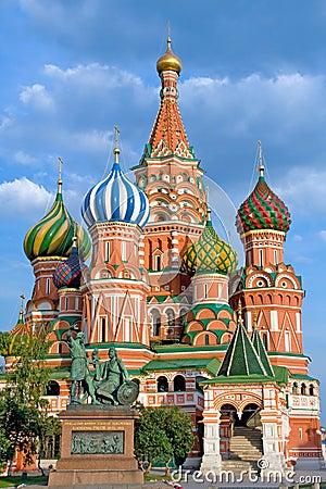 Free Pokrovsky Church Royalty Free Stock Image - 3476006