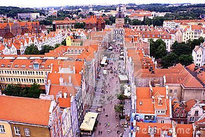 Poland. Gdansk. Editorial Stock Photo