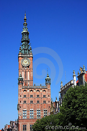 Poland Gdansk City hall