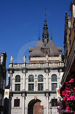 Poland Gdansk Old town - Long Market