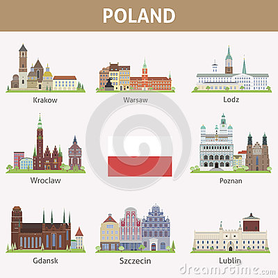 Free Poland. Symbols Of Cities Stock Images - 37609234