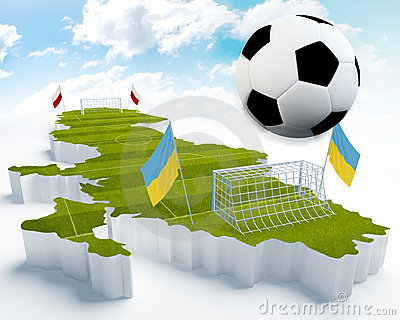 Poland and Ukraine European Soccer championship