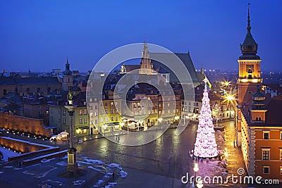 Poland: Warsaw castle square