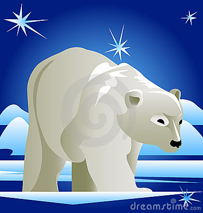 Free Polar Bear Stock Photography - 12589202
