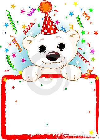 Polar Bear Cub Birthday