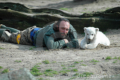 Polar bear Knut Editorial Photography