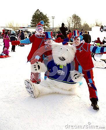 winter festival Editorial Stock Photo