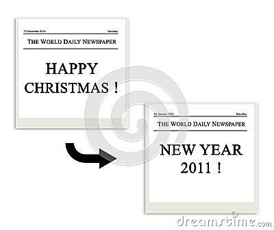 Polaroid of festivity Christmas - 2011