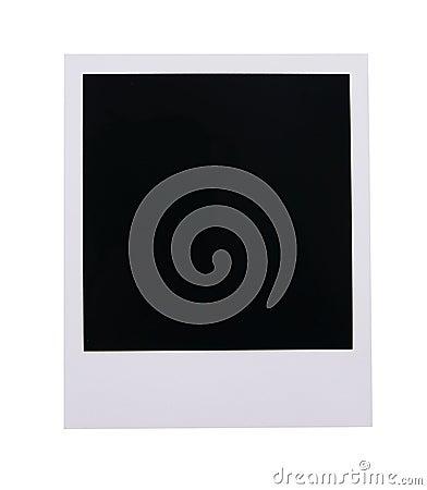 Free Polaroid Film Blank Royalty Free Stock Photos - 4101638