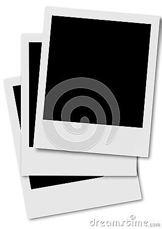 Polaroid film frame #2