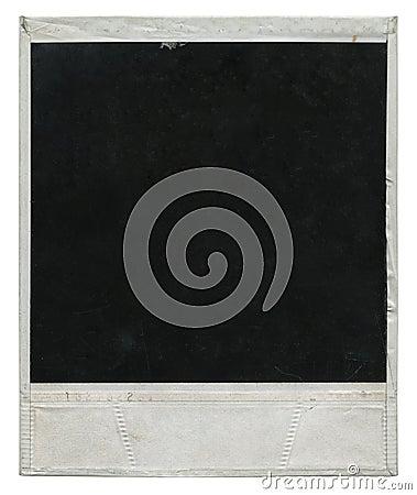 Free Polaroid Film Frame Stock Photo - 6553930