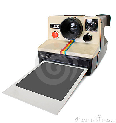 Polaroid instant camera Editorial Image