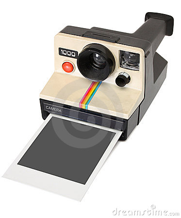 Polaroid instant camera Editorial Photography