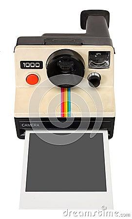 Free Polaroid Instant Camera Stock Photography - 9459522