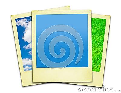 Polaroid Photos (clipping paths included)