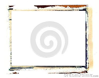 Polaroid transfer border