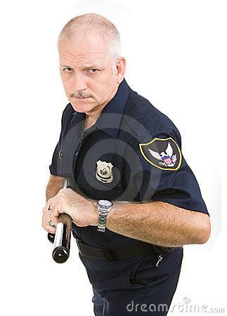 Polícia - agressivo