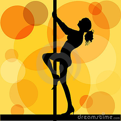 Free Pole Dancer Royalty Free Stock Photo - 168305