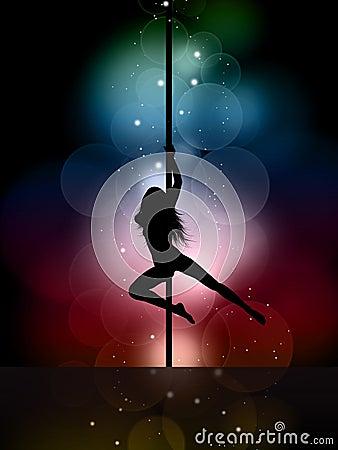 Free Pole Dancer Stock Photos - 19097013