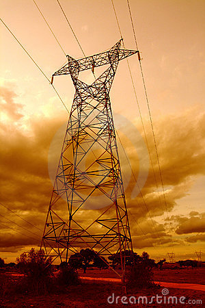 Free Pole Of Electricity Stock Photography - 284162