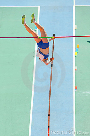 Pole Vault Editorial Photography