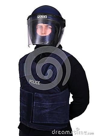 Policía de alboroto