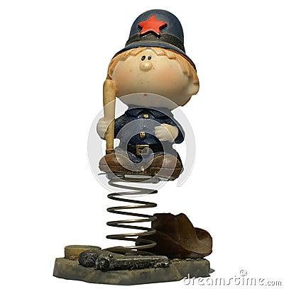 Police Boy Doll