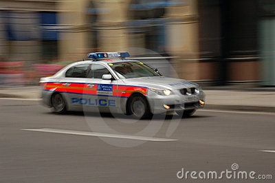 police car Editorial Image