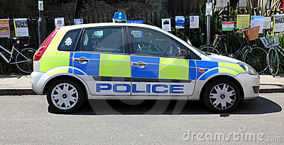 Police car Editorial Stock Image