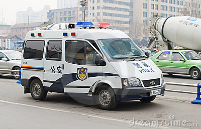 Police car Editorial Stock Photo