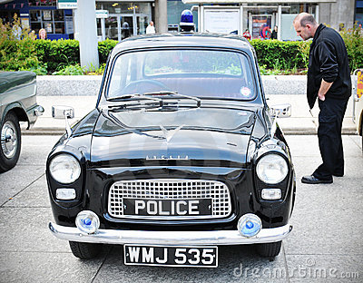 Police car Editorial Photography