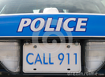 Police car 911