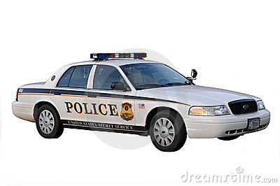Police Car from Washington DC Editorial Stock Photo