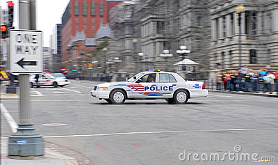 Police Car from Washington DC II. Editorial Stock Photo