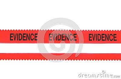 Police Evidence Tape