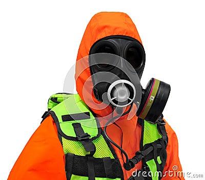 Police Hazmat CBRN suit
