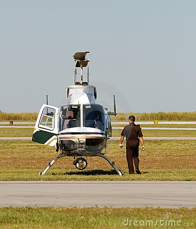 Free Police Helicopter Stock Photography - 5083842