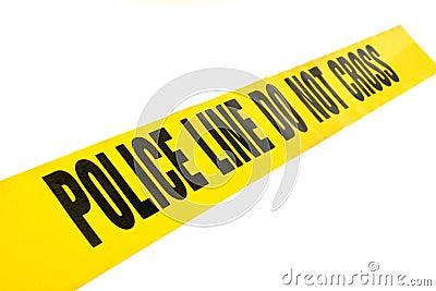 Police Line Crime Tape