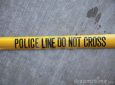 Police Line Do Not Cross Tape Stock Photos Image 14746593